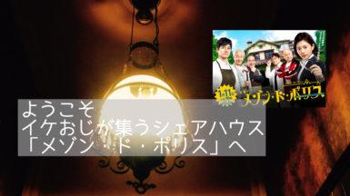 【高畑充希主演】刑事ドラマ「メゾンドポリス」の感想。